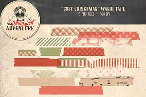 Cosy Christmas Washi Tape