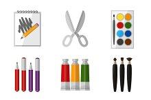 Vector tool set for artist