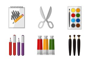 Vector tool set for artist