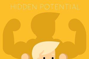 Hidden potential concept