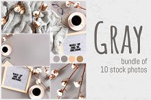 GRAY photo bundle