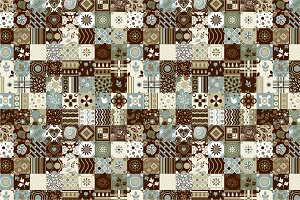 3 Seamless Patchwork Patterns