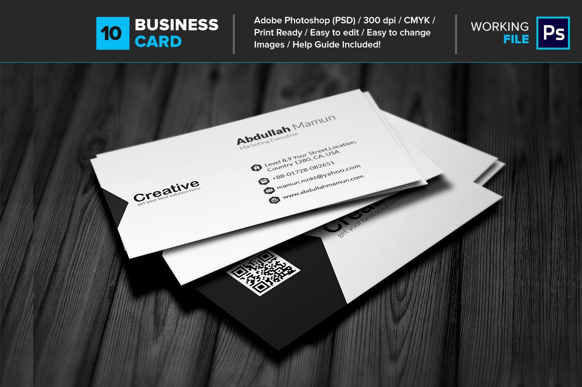 Professional business card 10 business card templates creative professional business card 10 business card templates creative market reheart Images