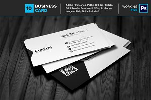 Professional Business Card 10