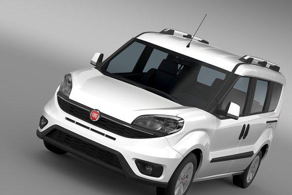 Fiat Doblo Cargo 263 2015 High Quality Obj 3d Models Creative Market