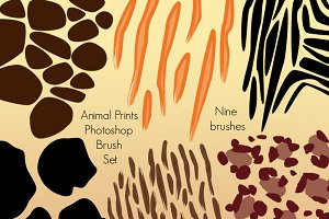 Animal Prints Photoshop Brushes
