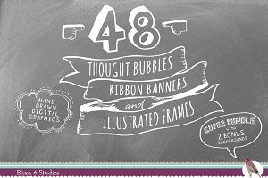 Bubbles Ribbons & Frames Superbundle