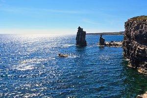 Le Colonne - San Pietro isle