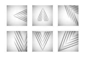 Steel vector lines