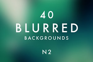 (SALE) 40 Blurred Backgrounds N2