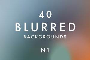 (SALE) 40 Blurred Backgrounds N1