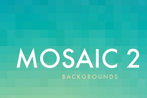 12 Mosaic Backgrounds 2