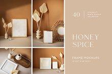 HONEY SPICE Minimalist Photo Mockups