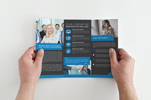 Tri fold Multi Use Brochure