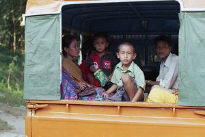Children On Bus