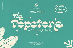 Popstone - Groovy Variable Font