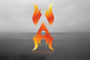 Fire A Logo