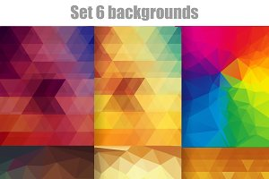 Set 6 backgrounds