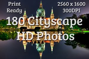 180 Cityscape HD Photos