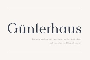 Gunterhaus - Modern & Transitional