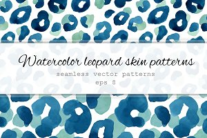 Leopard skin patterns