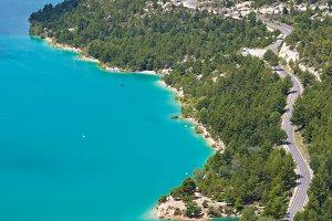 The Verdon gorge, Provence