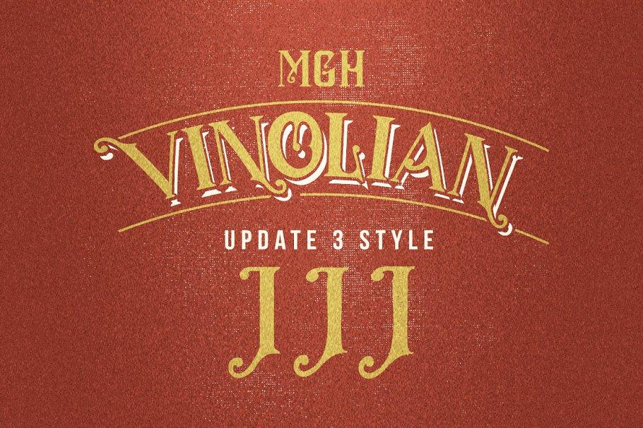 MGH vinolian HandDrawn Clean & Rough