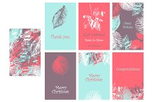 Collection of 6 cards. 4 colors.