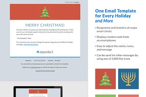 Holiday Email Template Mailchimp