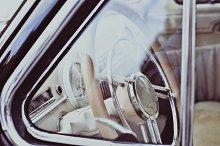 Amazing Interior of Old Classic Car