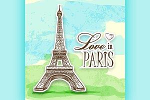 love in Paris Efel
