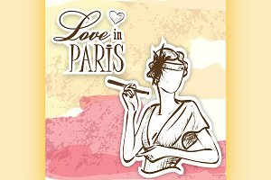 love in paris mademoiselle