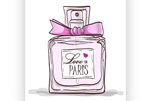 parfume love in paris