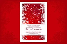Christmas Backgrounds Vector Set
