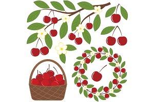 Cherry set