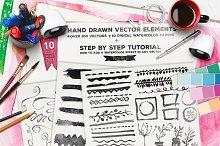 Hand Drawn Vector Elements Vol.2