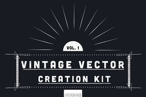 Vintage Vector Creation Kit