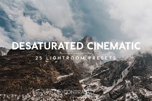 Desaturated Cinematic LR Presets