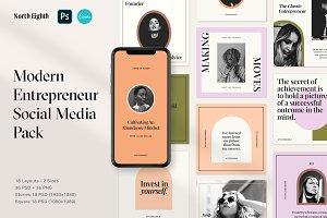 Entrepreneur Social Media Pack