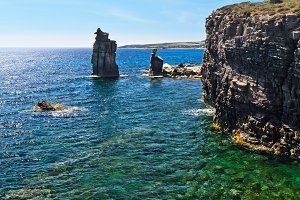 San Pietro island - Le Colonne
