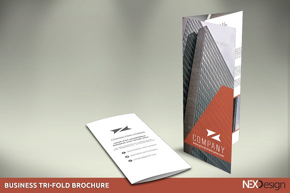Business TriFold Brochure SB Brochure Templates Creative Market - Business tri fold brochure templates