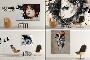 ART WALL MOCKUPS Vol.2