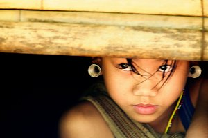 Innocent Tribal child