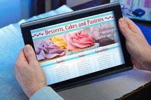 site web reading recipes for dessert