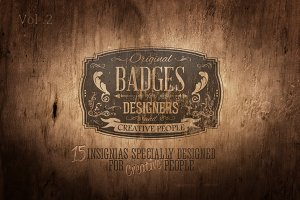 Creators Badge Set Vol.2