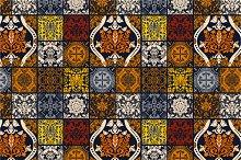 3 Seamless Patchwork Patterns