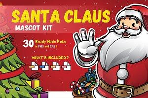 Santa Claus Mascot KIT