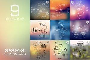 9 deportation infographics