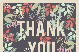 Thank You Card II