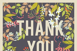 Thank You Card III